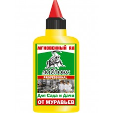 Гель Дохлокс Мгновенный яд от муравьев для сада и дачи 100 мл