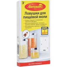 Липкая ловушка Аэроксон (Aeroxon) от пищевой моли (2 +1) шт