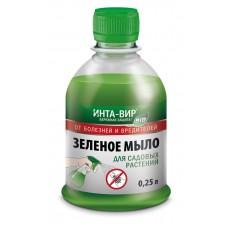 Зеленое мыло ИНТА-ВИР средство от болезней и вредителей 250мл